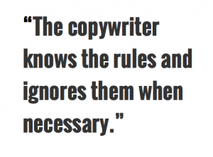 copywriter uk guide to copy rules