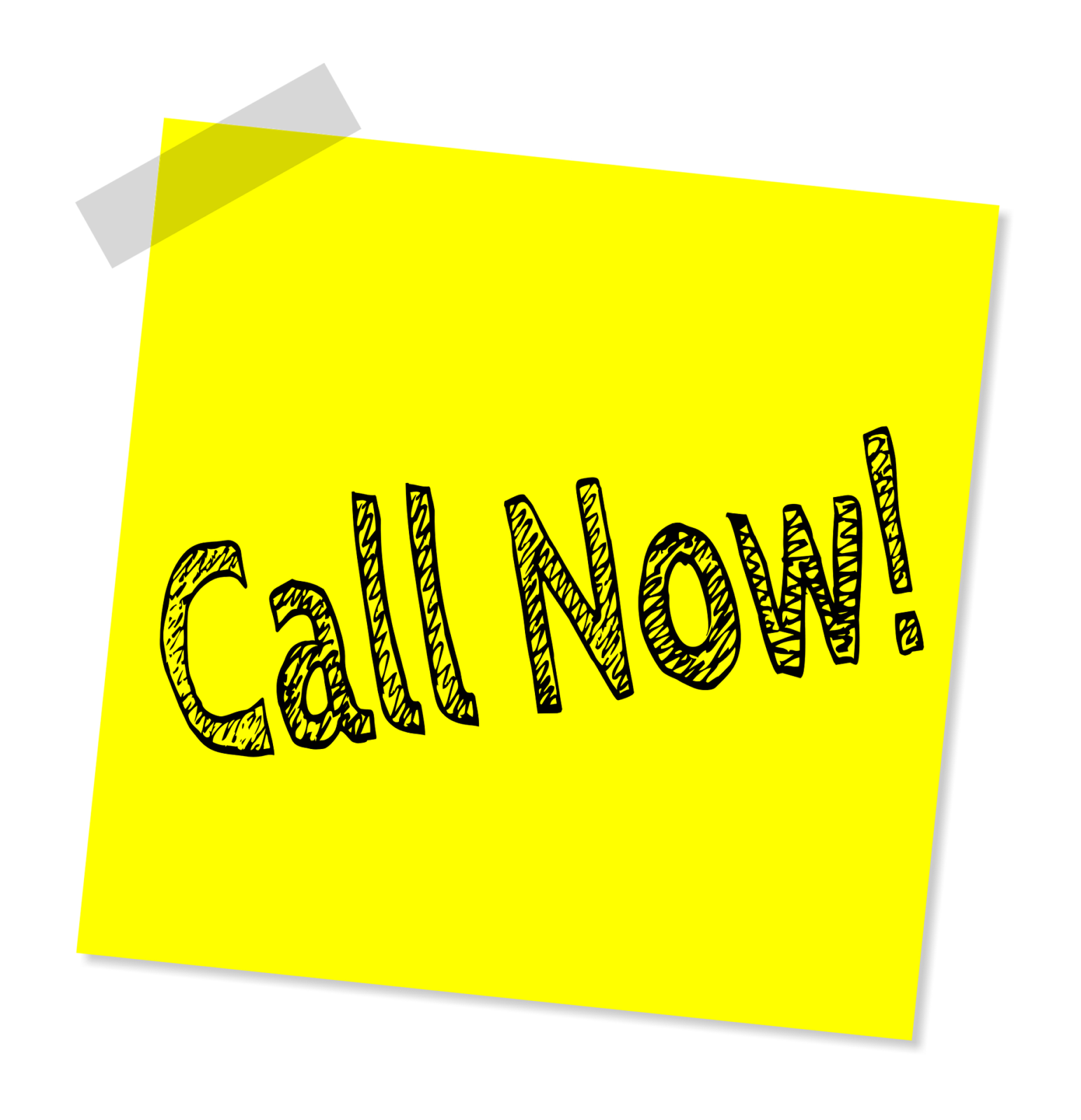 Call-to-action sticky note